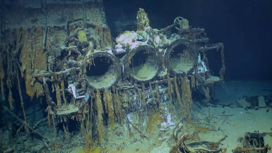 Sunken Italian warship Artigliere discovered