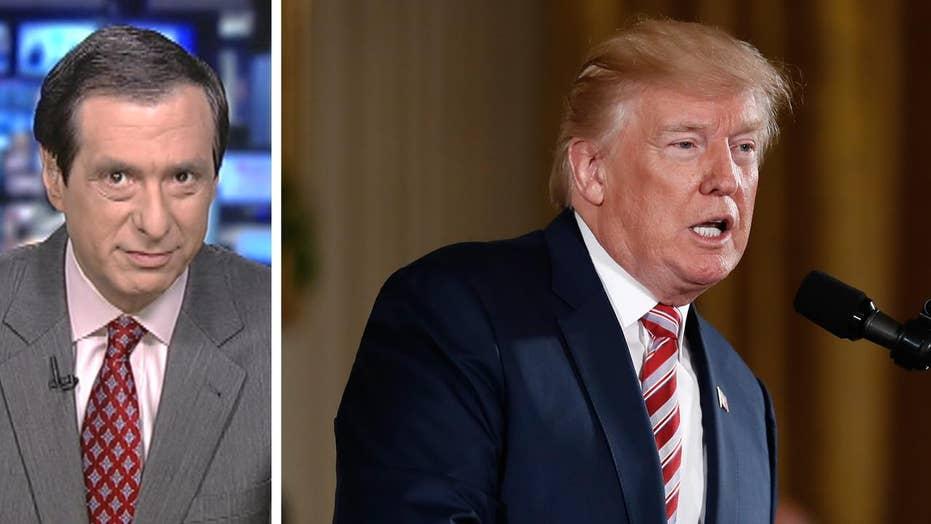 Kurtz: Trump tweets hit 'Fake News,' again