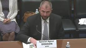 ATF agent John Dodson delivers opening statement at House Oversight Committee hearing on 2011 gun-running scandal