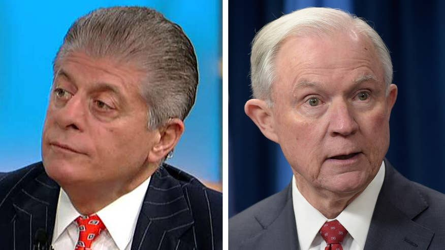 Fox News senior legal analyst reacts to reports of tension between president, attorney general over Russia investigation
