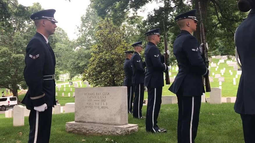 A1C Gage Garfin joined the Air Force at 17 with hopes of being apart of a team gives the highest honors at Arlington Cemetery to those who made the ultimate sacrifice