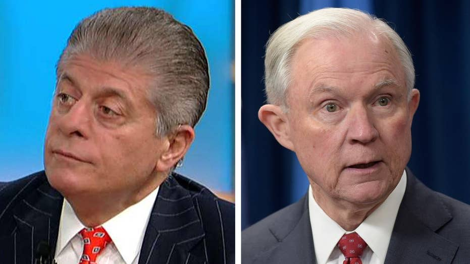 Napolitano: Jeff Sessions recusing himself was a mistake