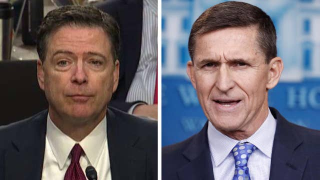 Comey: In words, Trump didn't order me to drop Flynn probe
