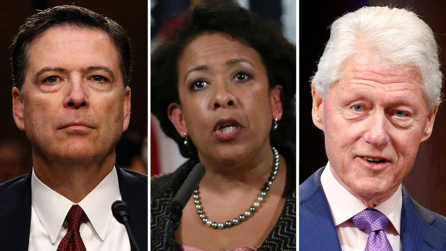 Former FBI director says tarmac meeting between then-attorney general, former president prompted decision