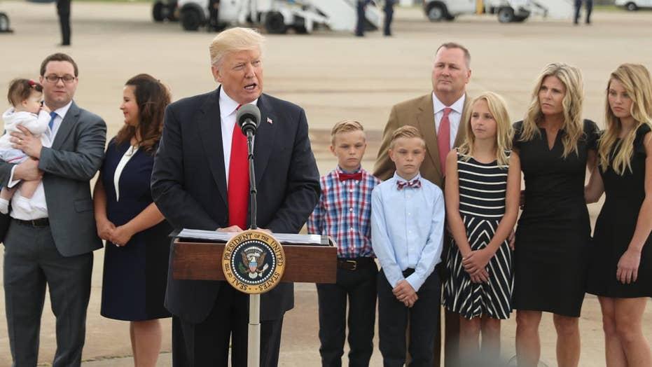 ObamaCare victims meet with President Trump in Cincinnati