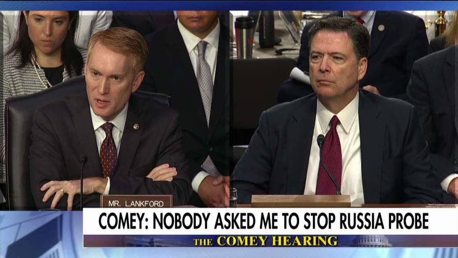Comey on Clinton email probe.