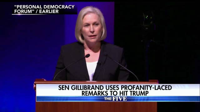 Image result for photo of trump's tweet on sen. gillibrand