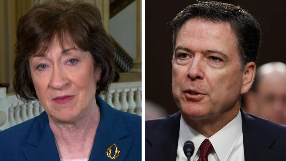 Sen. Collins: Comey has made some real mistakes in judgement