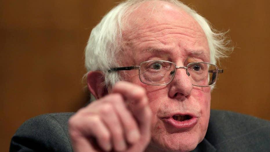 Sanders questions Trump nominee's religious beliefs