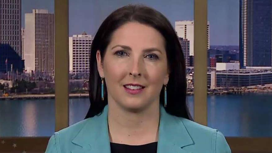 Ronna McDaniel reacts to former FBI director's appearance before the Senate Intelligence Committee