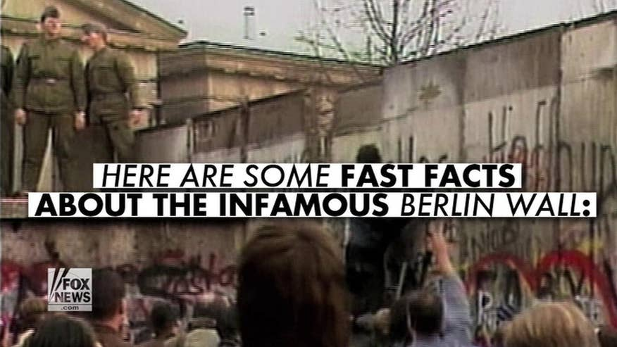 "Ronald Reagan made his iconic ""tear down this wall"" speech 30 years ago. Here are some fun facts about the infamous Berlin Wall"