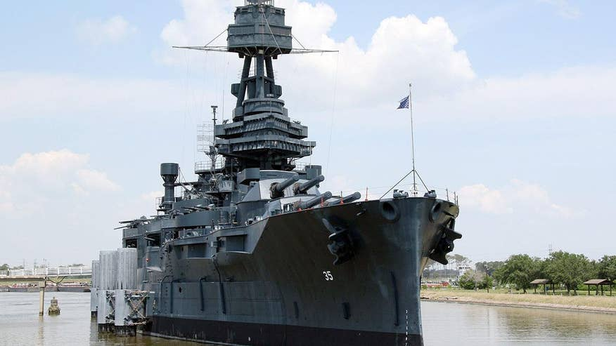 The USS Texas is closed to the public until further notice because of a major leak that caused the ship to list six degrees.