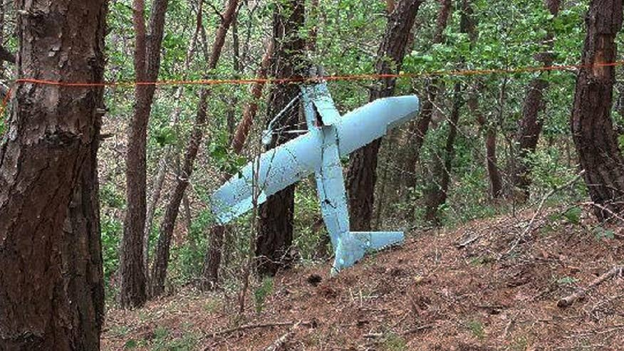 Drone found crashed in South Korean territory
