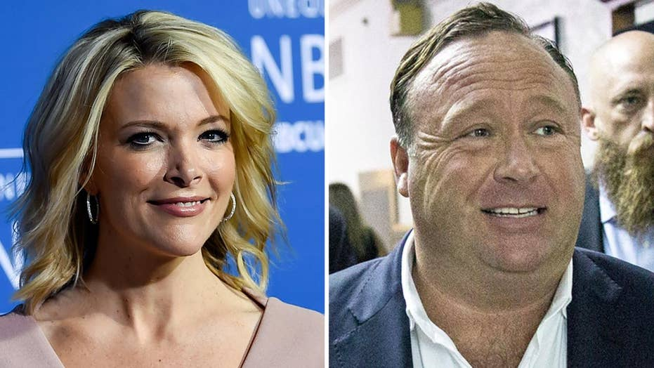 Megyn Kelly criticized for upcoming Alex Jones interview