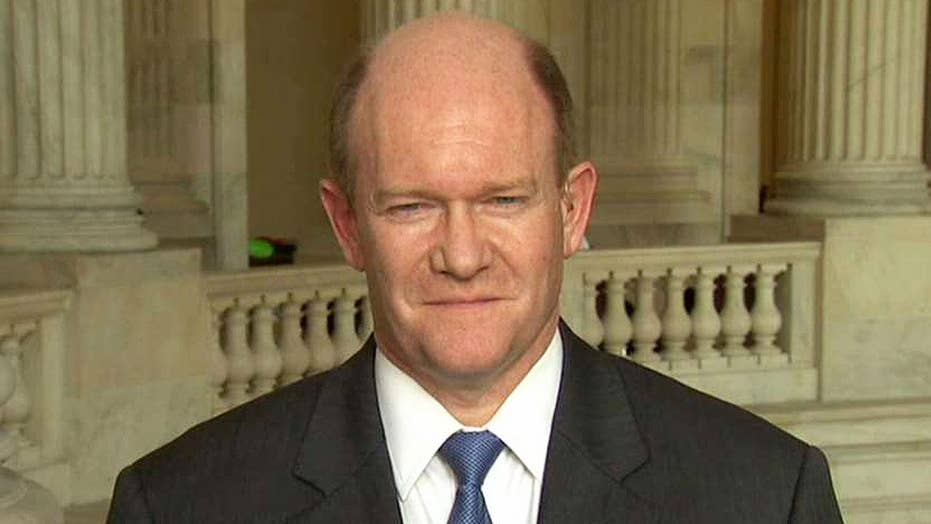 Sen. Coons: I question if Sessions violated his recusal