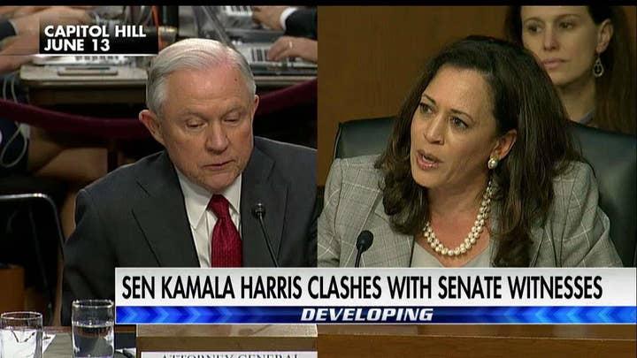 Sessions Kamala harris