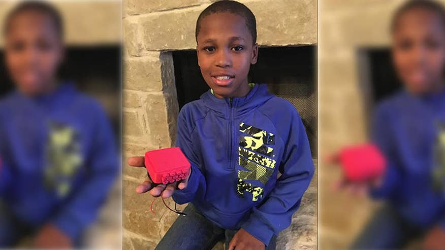Texas fifth grader has created a prototype device that will cool children down who are stuck in hot cars