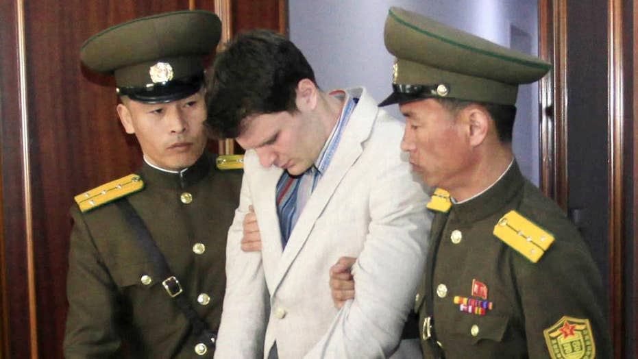 Otto Warmbier reportedly in a coma for months