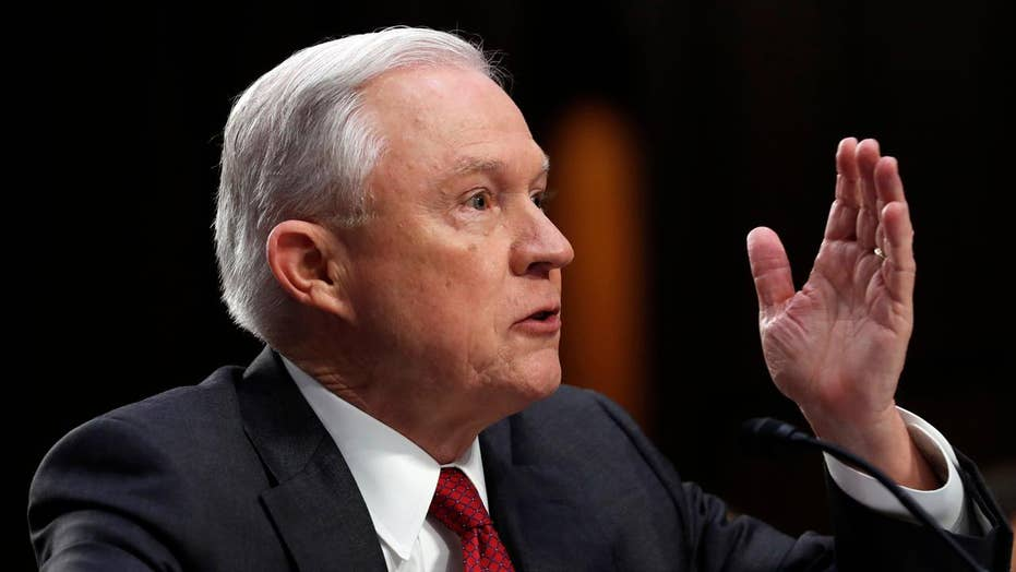 Sessions calls Russian collusion claims a 'detestable lie'