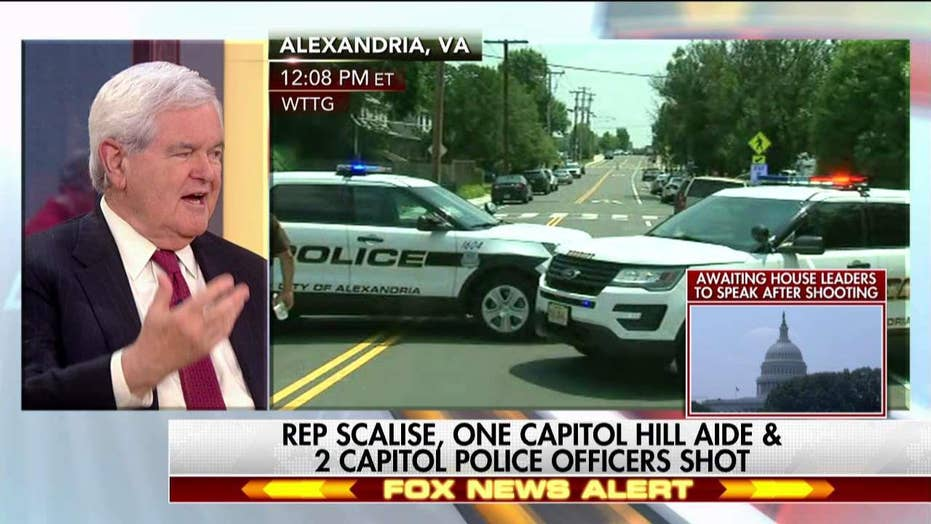Gingrich on Scalise shooting