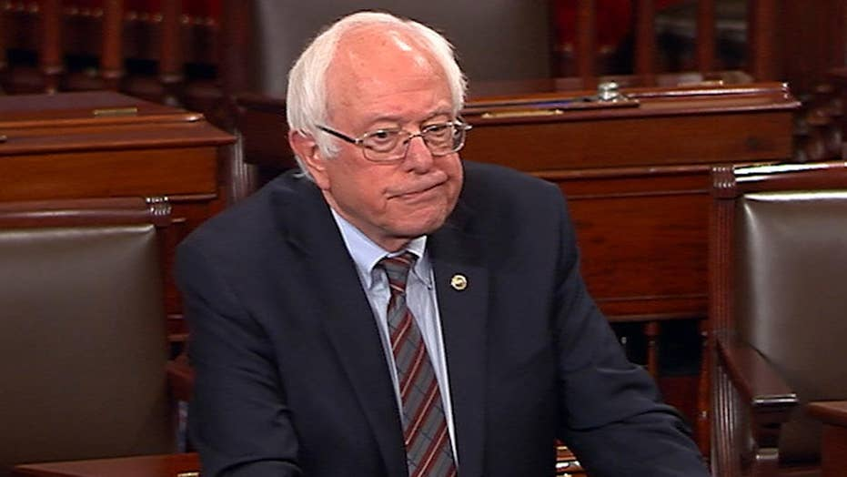 Bernie Sanders sickened by Scalise gunman's despicable act