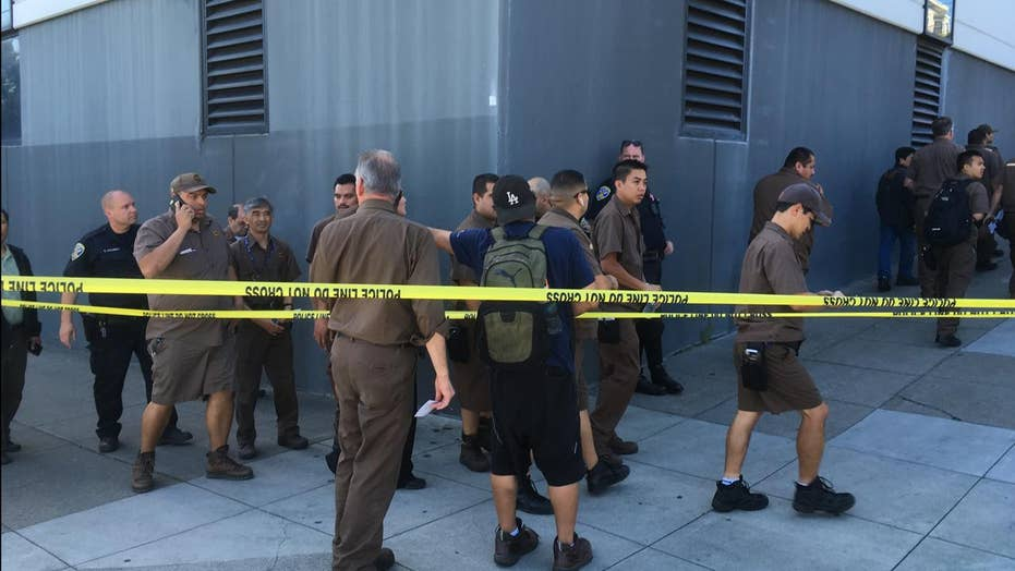 Multiple injuries in workplace shooting in San Francisco