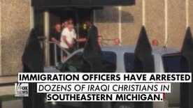 Immigration officers have arrested dozens of Iraqi Christians in Michigan. ICE says those arrested have criminal convictions including murder and rape