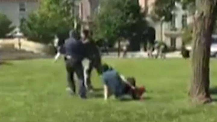 Two arrests made in brawl outside of Turkish embassy
