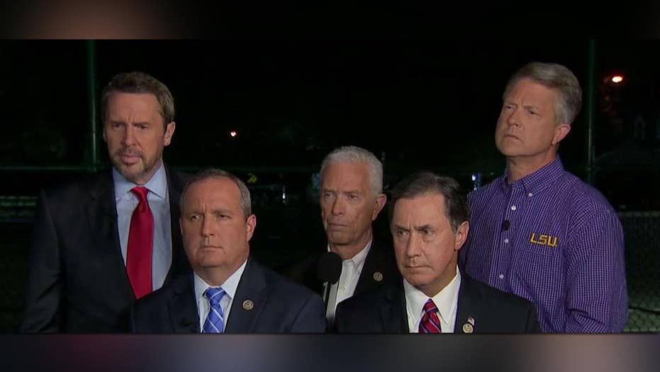 Congressmen give a chilling description of the shooting