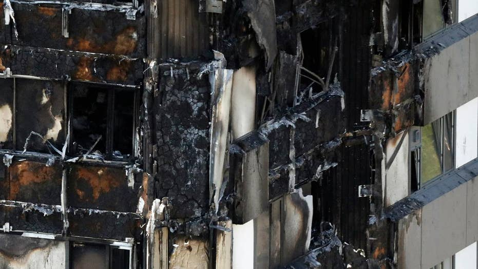 Officials searching for cause of London high-rise fire