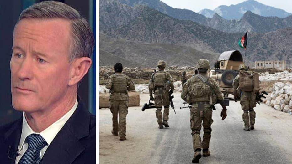 William McRaven on sending more US troops to Afghanistan