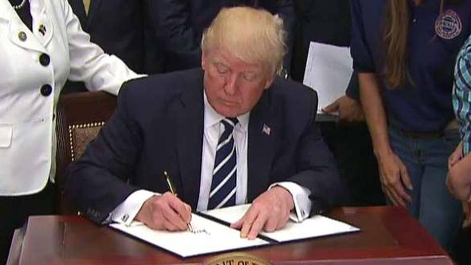 President signs executive order on apprenticeship initiative