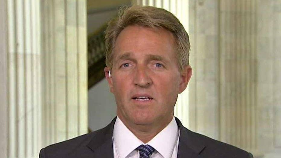 Sen. Flake describes aiding Rep. Scalise after shooting