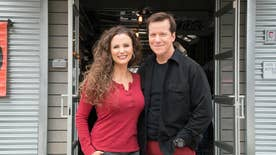 Fox Foodie: Comedian-ventriloquist Jeff Dunham and his food-blogger wife Audrey are traveling the country in search of America's craziest and most gut-busting meals on their new Food Network show 'Incredible Edible America'