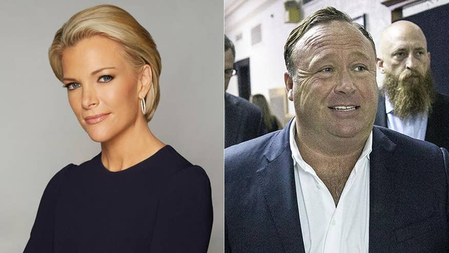 Conspiracy theorist Alex Jones says he secretly taped his entire controversial interview with NBC's Megyn Kelly, even the off-the-record portions of their interactions and released the recording online