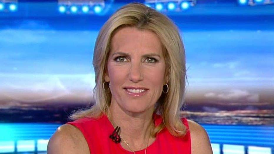Ingraham slams the left for not condemning violent rhetoric