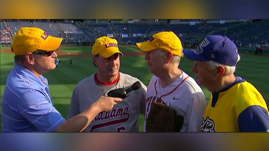 Congressmen talk playing baseball in honor of Rep. Scalise