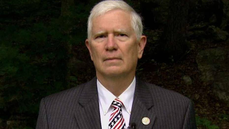 Rep. Brooks on gun rights for lawmakers, shooter's GOP list