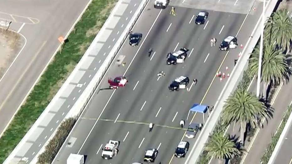 Officer-involved shooting on Bay Bridge in California