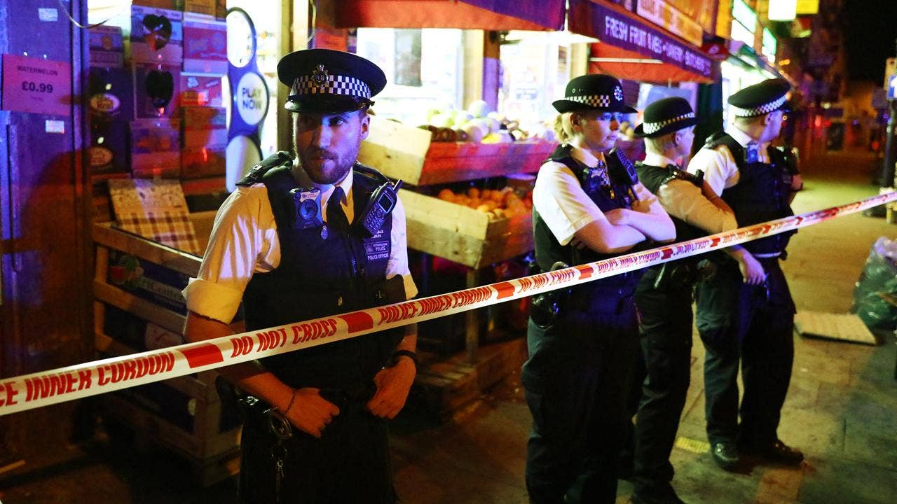 FOX NEWS: London crash: 1 killed, 10 injured after van slams into crowd leaving mosque