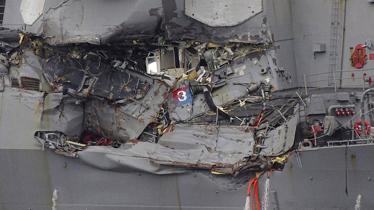 USS Fitzgerald: US Coast Guard to interview crew of container ship in collision
