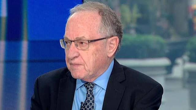 Dershowitz: Have to stop criminalizing political differences