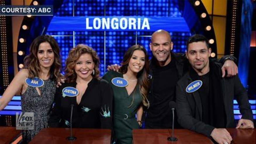 'Celebrity Family Feud': George Lopez, Eva Longoria test the rules