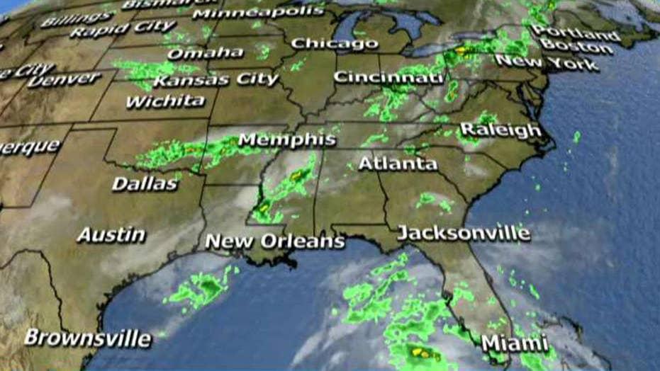 National forecast for Monday, June 19