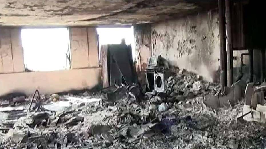 Video from inside devastating tower inferno released