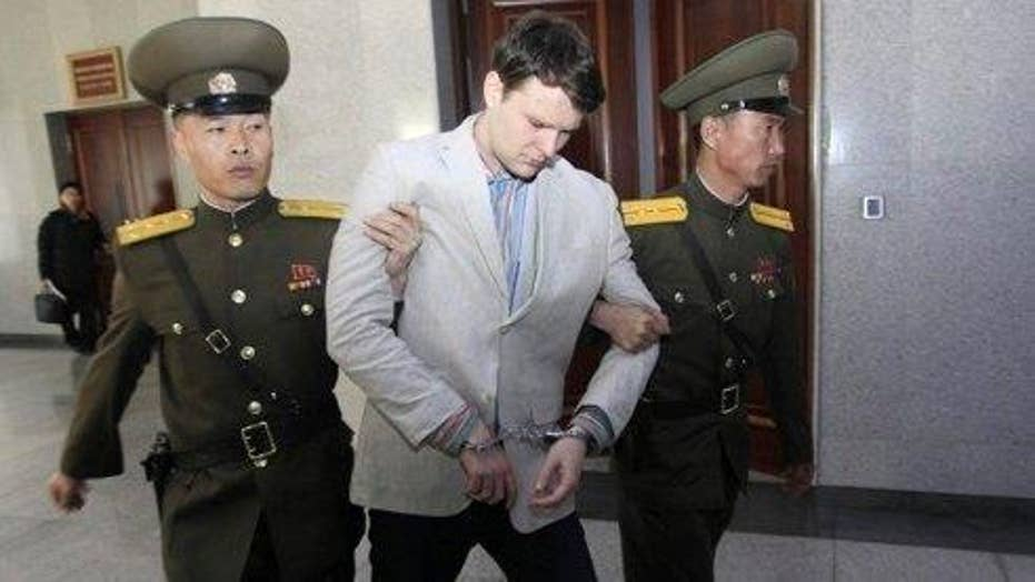 How will US respond to the death of Otto Warmbier?
