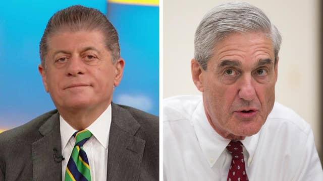 Napolitano on Mueller hiring expert in flipping witnesses