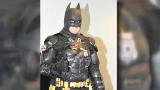 'Batman' arrests shoplifter stealing 'The Lego Batman Movie'