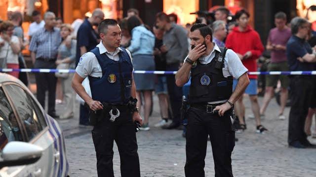 Belgian soldiers 'neutralize' terror suspect in Brussels
