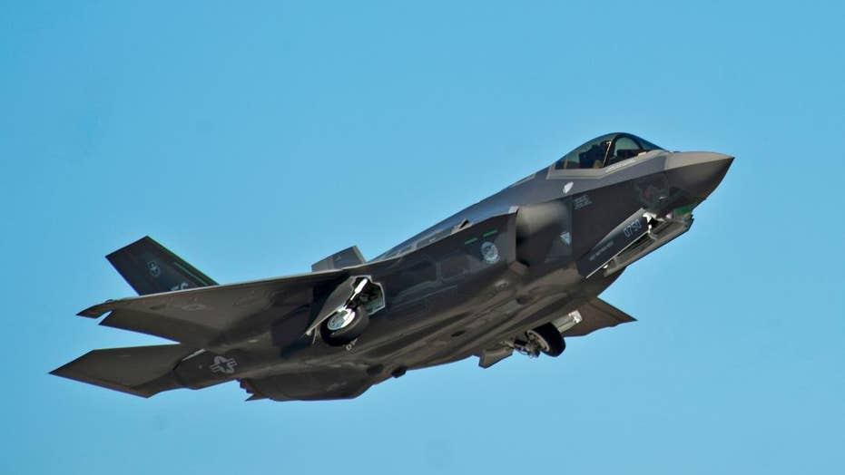 Lockheed Martin shows off F-35 fighter jet at Paris Air Show
